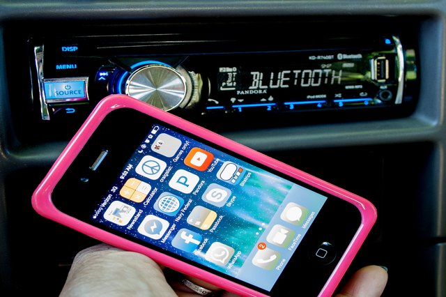 How do you hook up your cell phone to your car