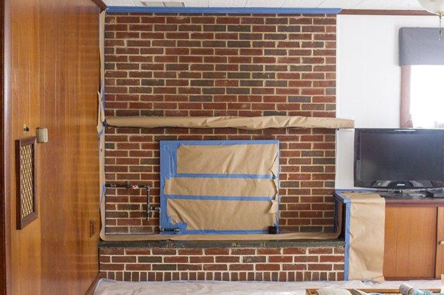 painting interior brick walls ehow. Black Bedroom Furniture Sets. Home Design Ideas