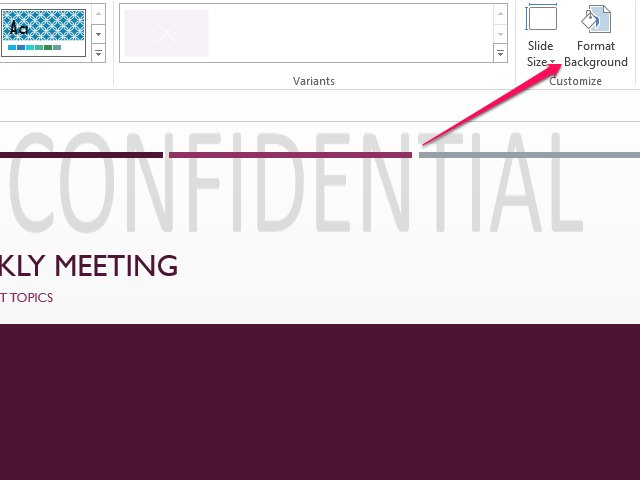 How To Remove A PowerPoint Watermark