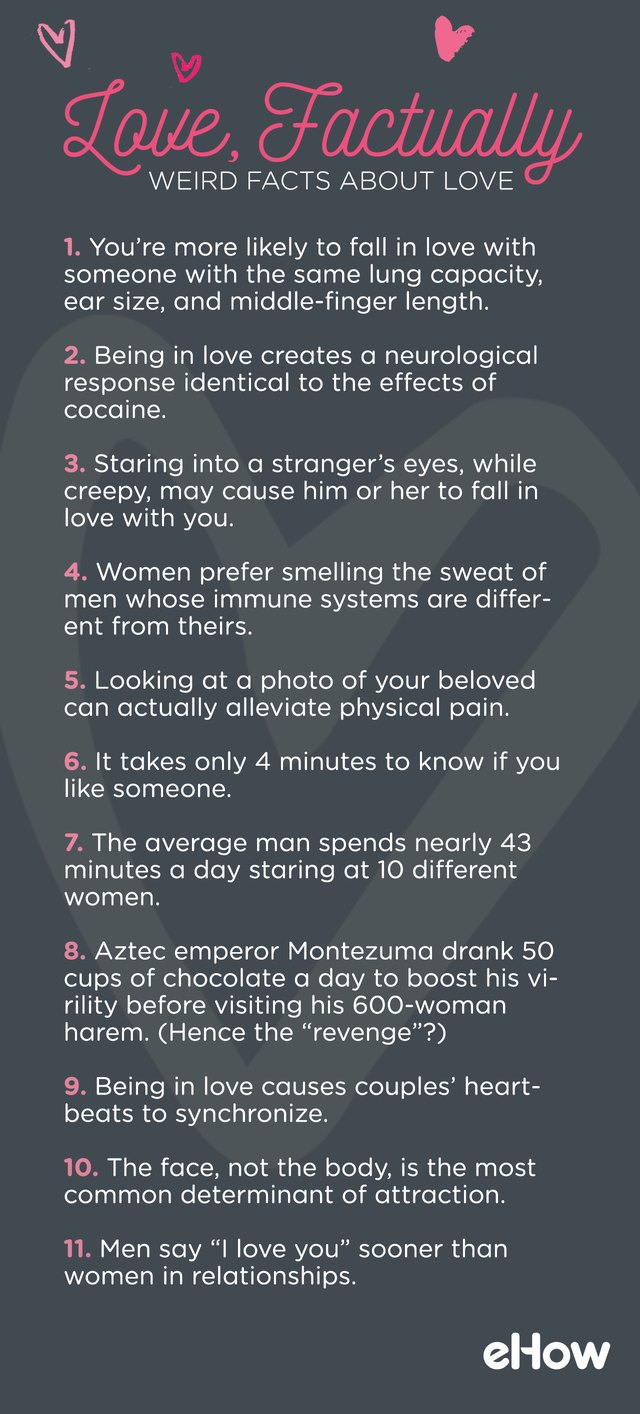 11 Facts About Love Ehow