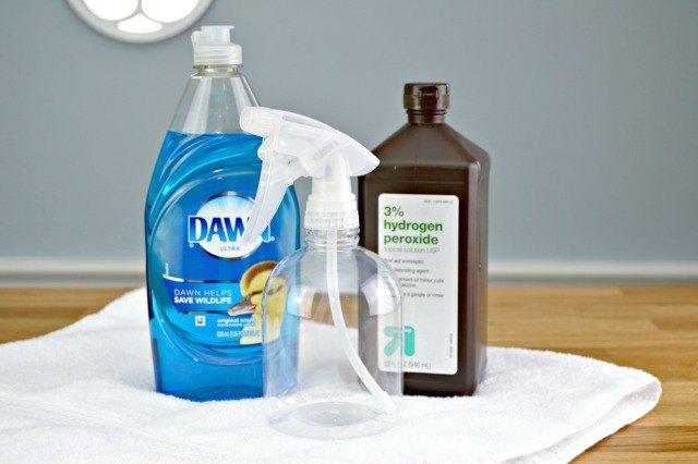 كيفية إزالة بقع الغسيل ؟