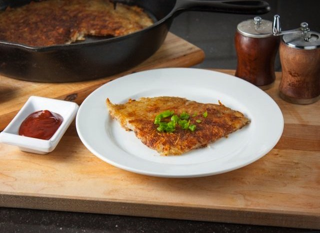 Hash browns are a slam dunk; no one can resist hot, fried potatoes!