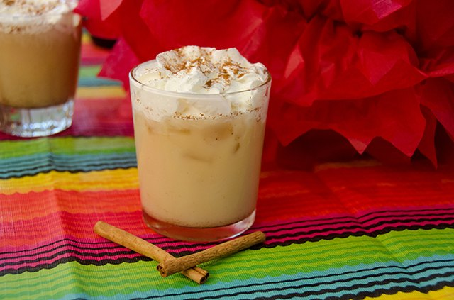 Try a twist on a classic horchata.