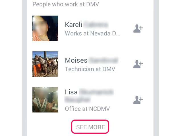 how to find someone view facebook