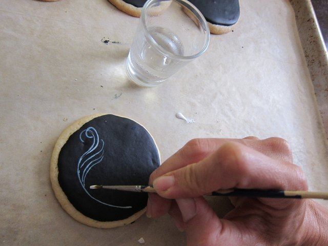 Paint cookie
