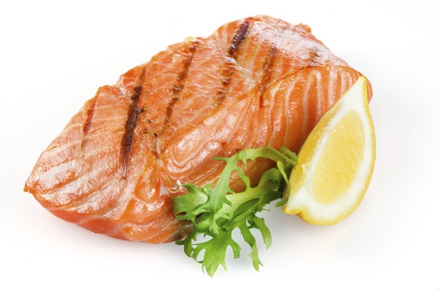 The essential fatty acids in salmon protect neurons from stress damage.