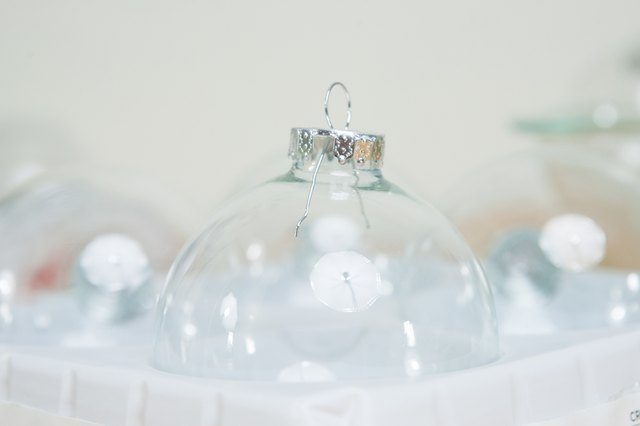 Crafts for Clear Christmas Bulbs