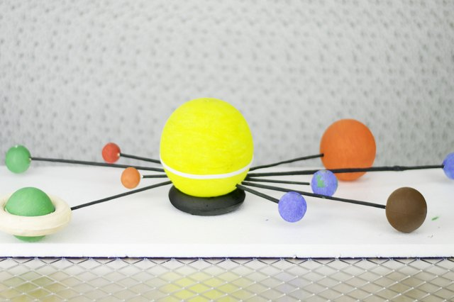 Pics For > Solar System Model For Kids Styrofoam Balls