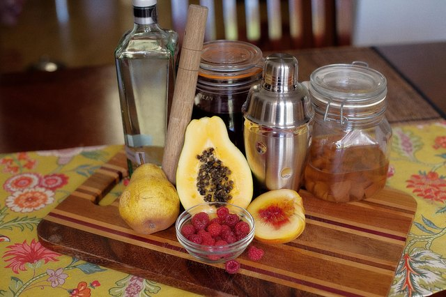 How to Make Fruit Infused Alcohol