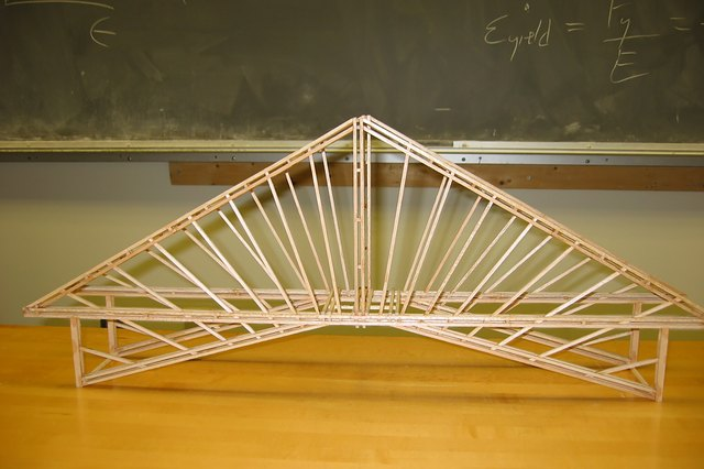How To Make A Bridge Out Of Balsa Wood With Pictures Ehow