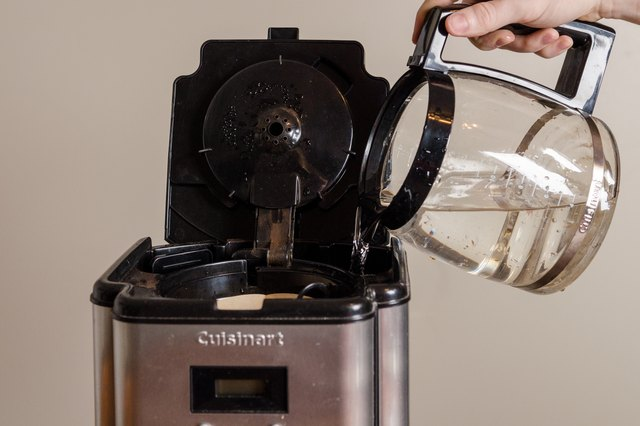 Coffee Maker Self Cleaning : How to Self-Clean a Cuisinart Coffee Pot (with Pictures) eHow