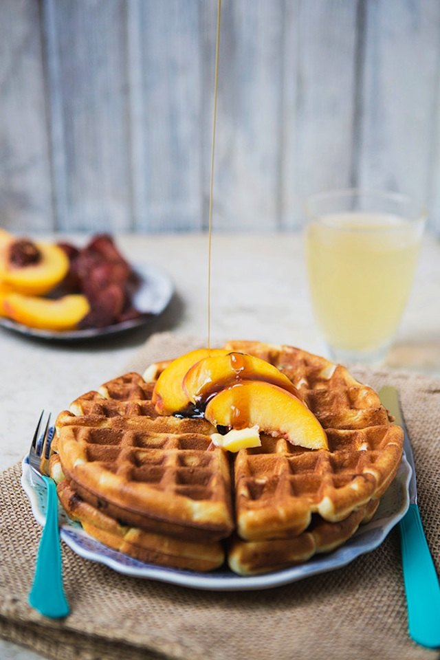 Quick and easy waffles are an all-time favorite.