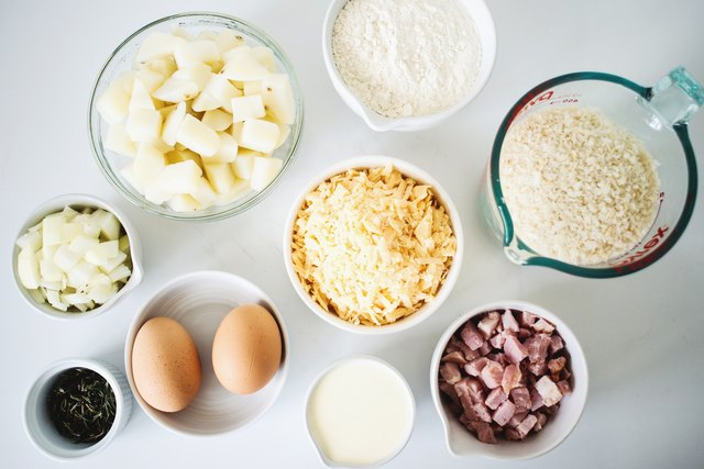 Measure out all the ingredients.