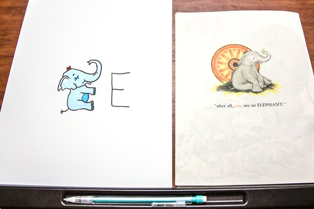 How to Turn Alphabet Letters Into Animals