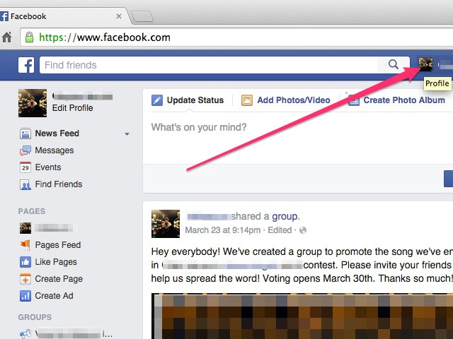 how to hide or unhide a post on facebook with pictures