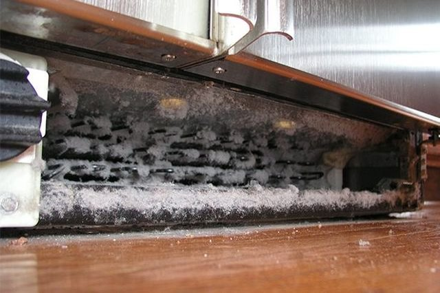 Cleaning the condenser coils at least once per year to extend the life of the refrigerator.