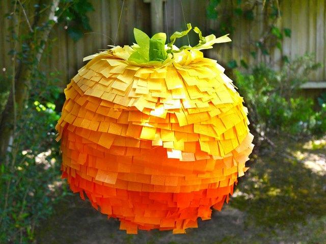 pumpkin pinata halloween crafts for babies