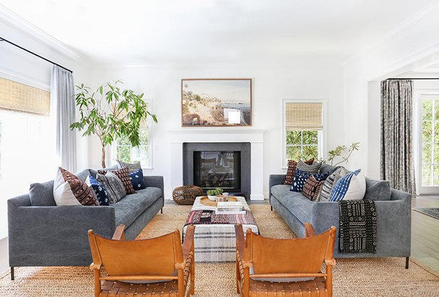 How To Coordinate Colors In A Living Room Ehow