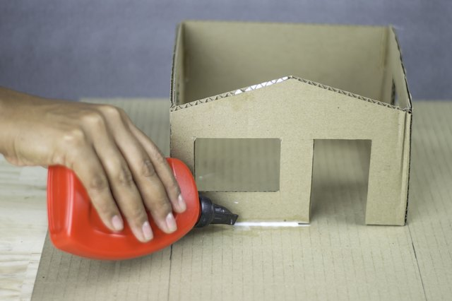 How To Build A Cardboard Model House With Pictures Ehow