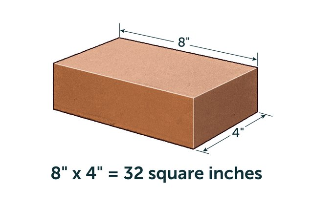 How to calculate number of bricks per square foot ehow for How big is a 10x10 room