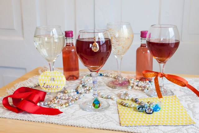 Ways to Identify Wine Glasses at a Party