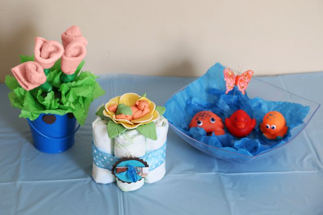 Do-It-Yourself Centerpieces for a Baby Shower