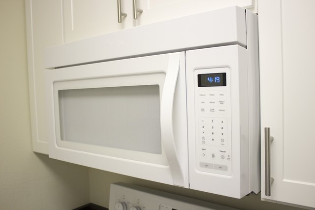 How to Replace an Over the Range Microwave Oven
