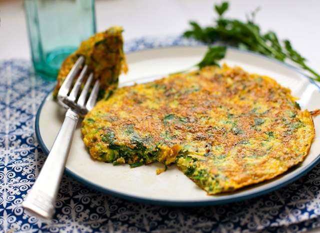 You'll be asking for seconds of this herb and zucchini frittata.