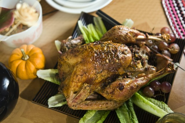 how to cook a turkey overnight in the oven
