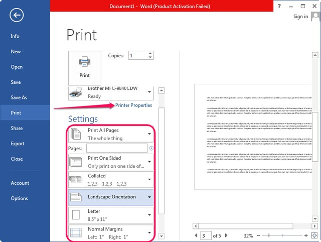 how to print two pages on one paper in microsoft word ehow