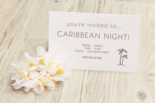 What to Wear to a Caribbean Theme Party