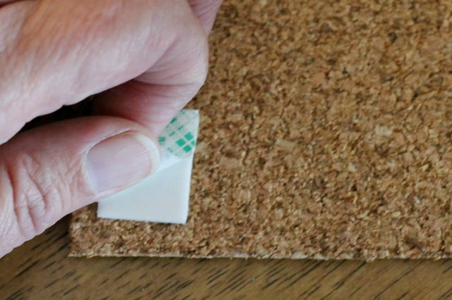 how to hang a corkboard with pictures ehow