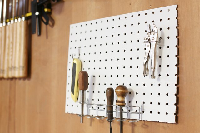 How To Paint A Peg Board (With Pictures) | Ehow