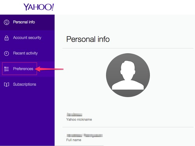 how to translate yahoo mail to english