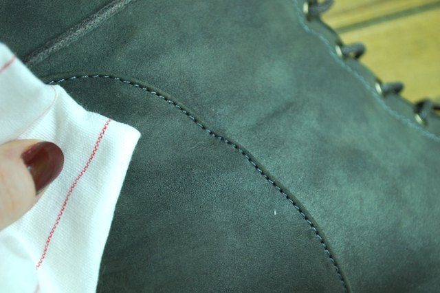 How do you remove jean stain from leather?