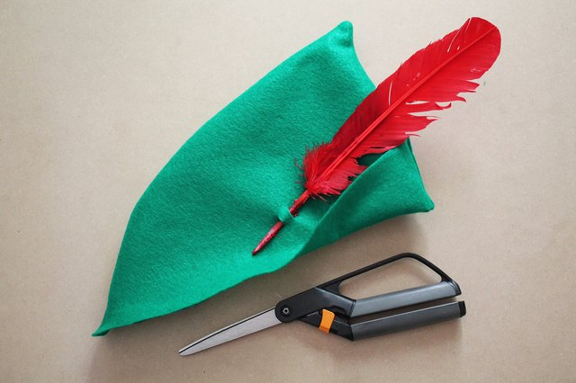 Attach a red feather.