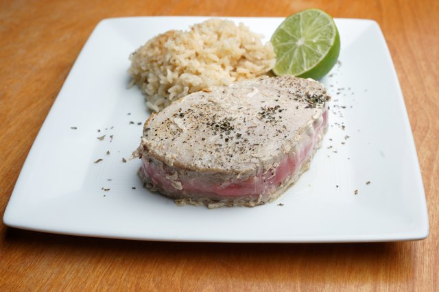 How to Sear Tuna Steaks