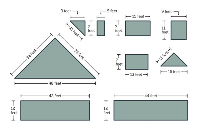 How To Calculate The Amount Of Hardie Plank Siding Ehow