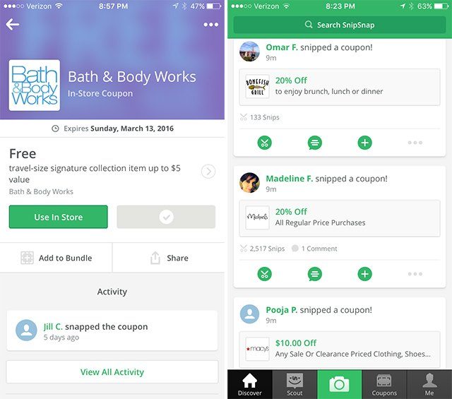 Turn paper coupons into mobile-optimized ones with SnipSnap.