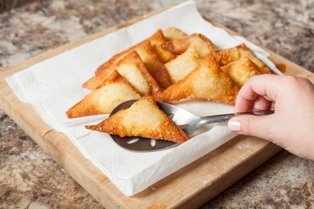 How To Make Cream Cheese Wontons With Pictures Ehow