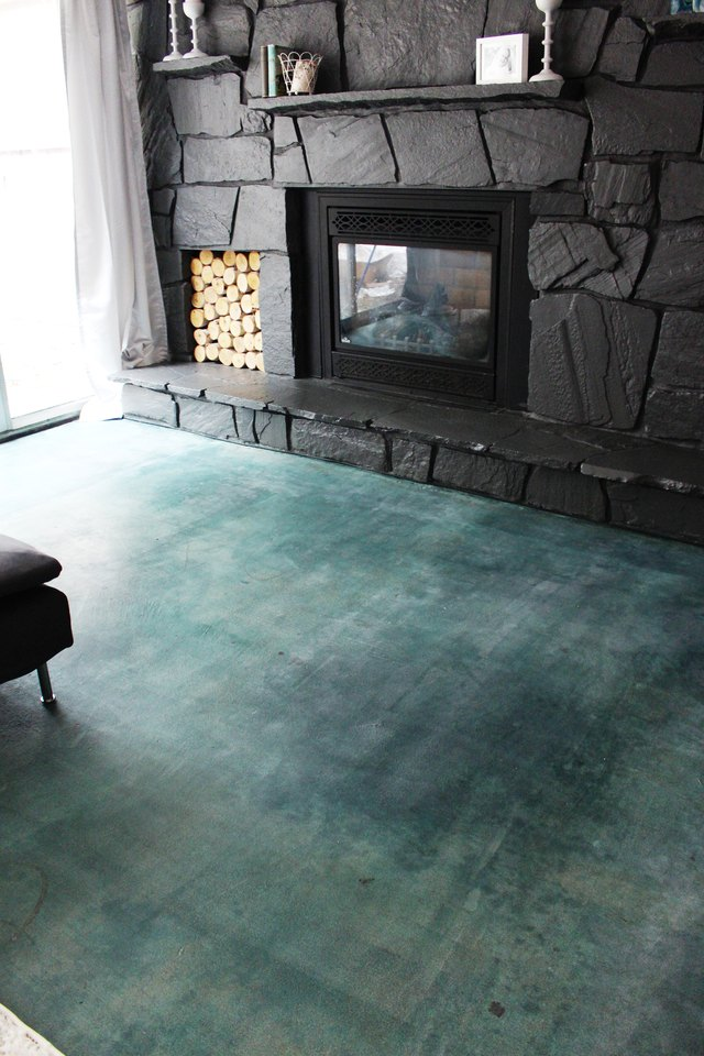 How To Acid Stain A Concrete Floor Ehow