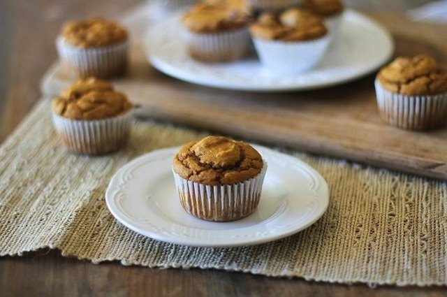 These pumpkin muffins are beautiful, moist and oh-so-comforting.