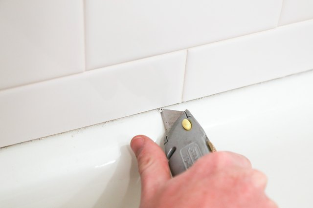 How To Remove Mildew Molded Caulk From Your Bathtub EHow