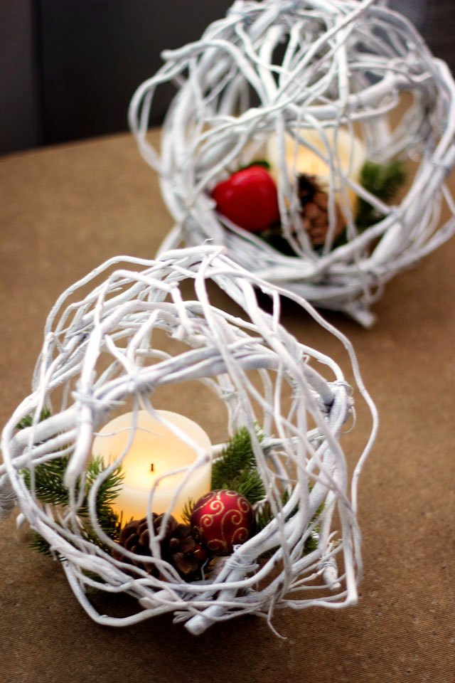 These beautiful diy willow twig balls are perfect holiday for Diy twig decor