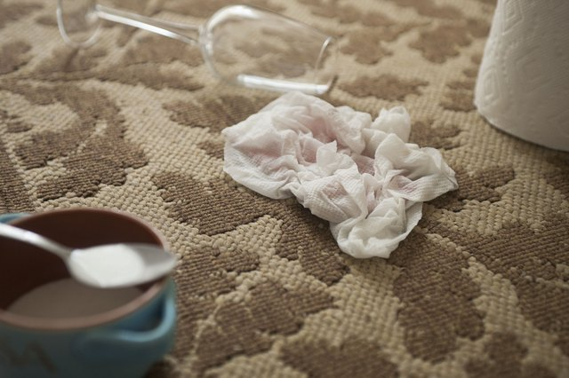 How To Use Baking Soda To Clean Carpet With Pictures Ehow