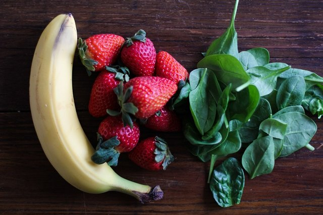 healthy fruit smoothies with spinach difference between fruits and vegetables