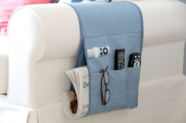 Quality Sewing Tutorials Arm Chair Remote Holder Tutorial