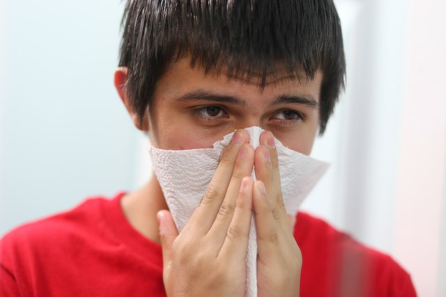 How to Treat Nasal Congestion--Break up Mucus Congestion
