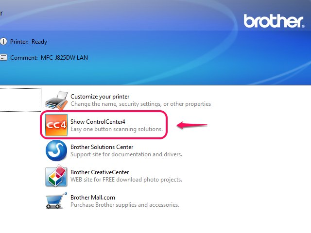 how to scan a document to pdf from brother printer