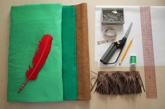 Peter Pan costume supplies